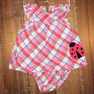 Carter's 9 mo ladybug dress